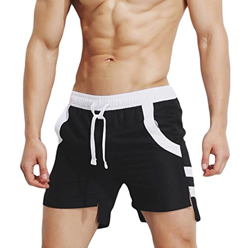5e18461183 Hmeng Sexy Mens Boys Beach Hotspring Surfing Swimming Trunks Pants Swimwear  Shorts (Black, XL) - Buy Online in UAE. | Misc. Products in the UAE - See  Prices ...