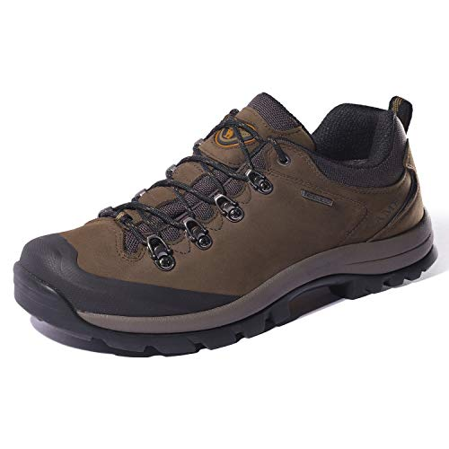 CAMEL CROWN Zapatos de Senderismo para Mujer al Aire Libre Trekking Low-Top Profesional Antideslizante...