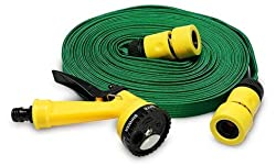 CheckSums (11237) 10 Mtr Pressure Washing Multifunctional Water Spray Jet Gun Hose Pipe For Garden/Car/Bike/Pet Wash- Assorted Color