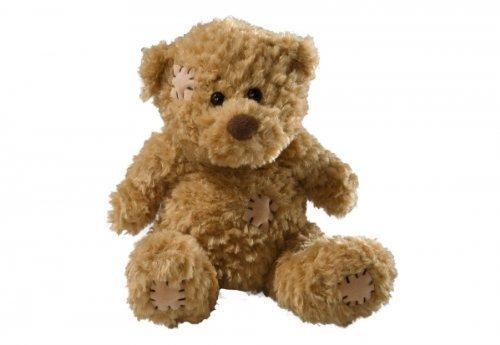 althans-33864-teddy-mit-flicken-braun-16-cm