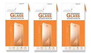 Johra Real HD+ Tempered Glass For Micromax Vdeo 1 Tempered Glass - Pack of 3