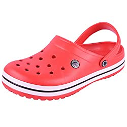 Flipside Mens Red Clogs