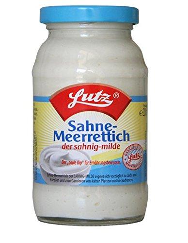 Lutz Sahne-Meerrettich 12 x 200 g Tray