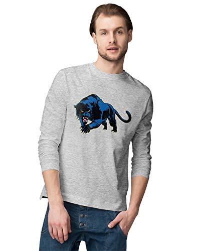 BLAK TEE Sneaky Angry Panther Herren Langarmshirt M