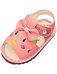 b03f126b0c Amazon.it: coniglio - Rosa / Sandali / Scarpe per bambine e ragazze ...
