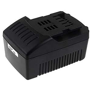 POWERY® Batteria per Metabo limatrice a nastro BF 18 LTX 90