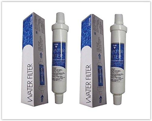 Banseok Daewoo DD-7098 - Juego de 2 filtros de agua para nevera