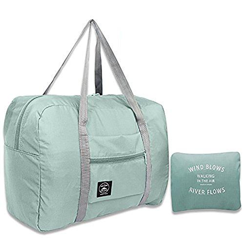 El almacenamiento plegable resistente al agua ligero del viaje de Arxus lleva la bolsa de asas del equipaje del equipaje