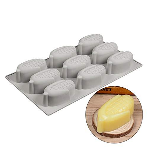 ilikon Schokolade Form Mais Form Kuchen Süßigkeiten Gelee Eisform für handgefertigte DIY Kaffee ()
