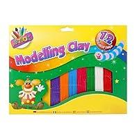 Miqat Artbox Childrens Modelling Clay Kids Multicoloured Plasticine Strip Arts And Crafts Hob