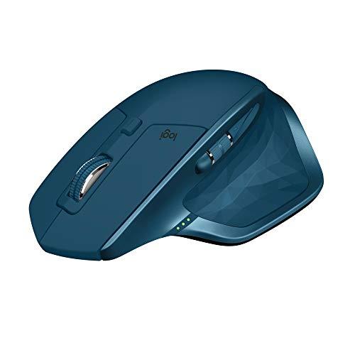 Logitech MX Master 2S kabellose Maus (Bluetooth, für Mac und Windows) midnight teal