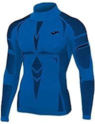 Joma Brama Emotion - Camiseta térmica para hombre, color azul, talla S/M