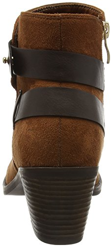 Dolcis Damen Nellie Kurzschaft Stiefel Brown (Auburn)