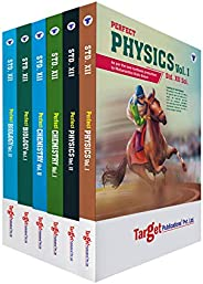 Std 12 Books - Physics, Chemistry and Biology | PCB | Science | Perfect Notes | HSC Maharashtra State Board |