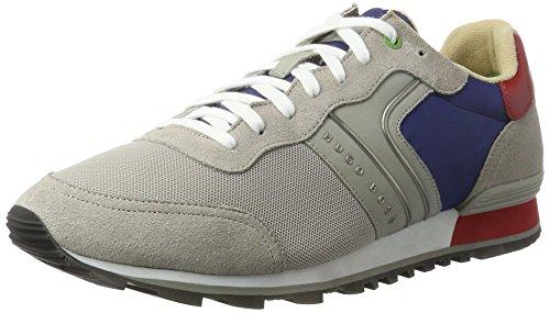 Boss Green Parkour_Runn_nymx 10191435 01, Sneakers Basses Mens, Gris (Dark Grey), 43 EU
