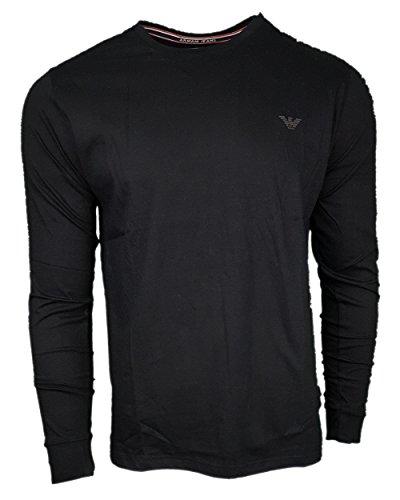 Armani Jeans - Men`s Crew T Shirt. Long Sleeve. Slim Fit
