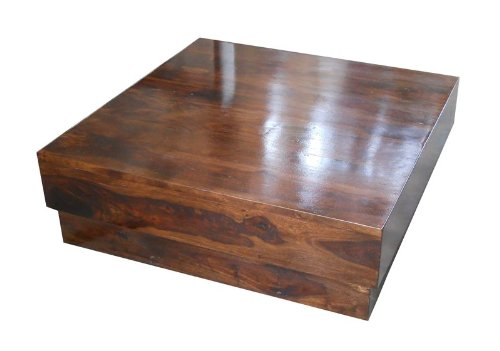 INDUSCRAFT MODERN WOODEN COFFEE TABLE