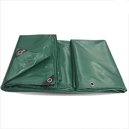 LYZP Plane 2 Seiten wasserdicht regendicht Winddicht Multipurpose Starke PVC Polyester Leinwand grün, 10 Größe optional (Dicke 0,35 mm) (größe : 2m × 3m) - Multi Purpose Leinwand