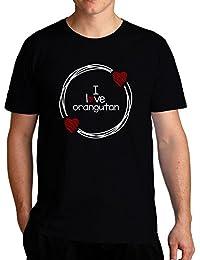 Eddany I love Orangutan T-Shirt