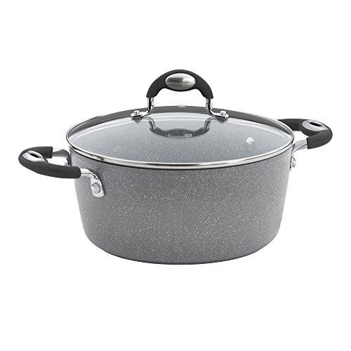 Bialett nicht haftend 5 qt Dutch grau Deep Dutch Oven