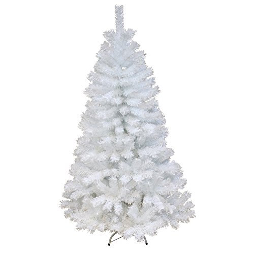 Unbekannt albero di natale artificiale luxe alexi 396, altezza 150cm, colore: bianco