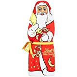 Lindt Chocolat Au Lait Santa 125G (Paquet de 6)
