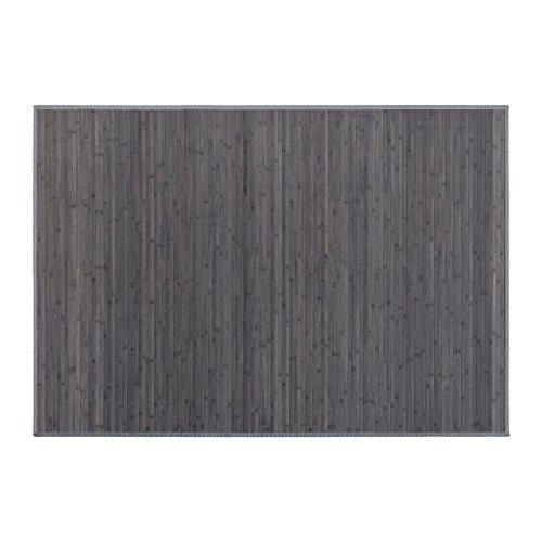 Alfombra color Gris Marengo de Bambú
