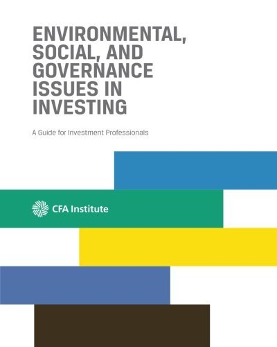Environmental, Social, and Governance Issues in Investing: A Guide for Investment Professionals by Usman Hayat (2015-10-30)