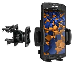 mumbi KFZ Lüftungsgitter Halterung Samsung Galaxy S4 Active Vent Mount 4 Kugelgelenk Autohalterung