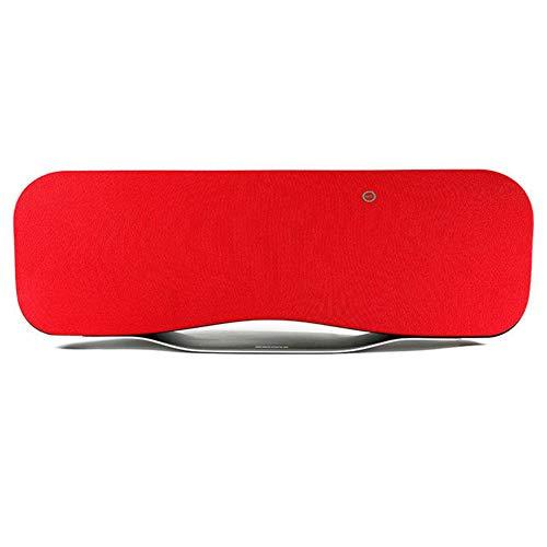 WQGNMJZ Bluetooth-Lautsprecher Remax/Core RB-H6 Desktop Bluetooth Lautsprecher Profi-Lautsprecher Bluetooth 4,0 Drahtlose Fern Lautsprecher,Red