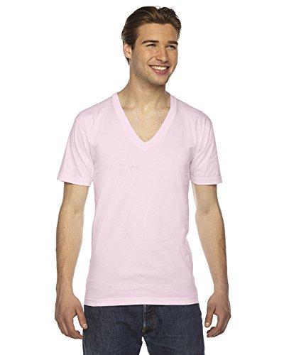 american-apparel-camicia-casual-abbigliamento-uomo-rosa-l
