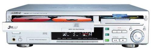 3 Fach Wechsler (Philips CDR 802 CD-Rekorder/3-fach Wechsler silber)