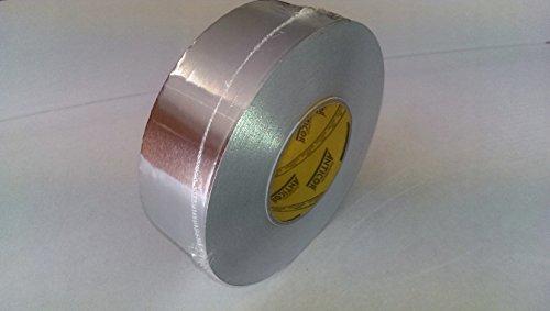 Alufix Aluklebeband für alukaschierte Rohrisolierung Breite 50mm Test