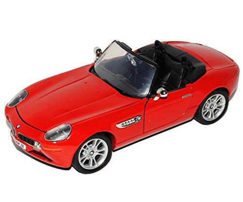 Unbekannt B-M-W Z8 Cabrio Rot 2000-2003 1/24 Motormax Modell Auto (2002 Bmw Modellauto)