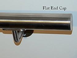 Stainless Steel Handrail 42.4mm Brushed Satin finish Grade 316 External Grade (1000mm)