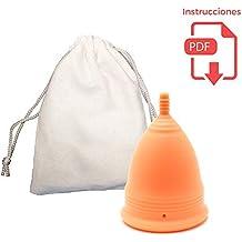 Copa Menstrual Suave para Principiantes - Flujo regular - Vejigas sensibles, Calambres y Cólicos Menstruales