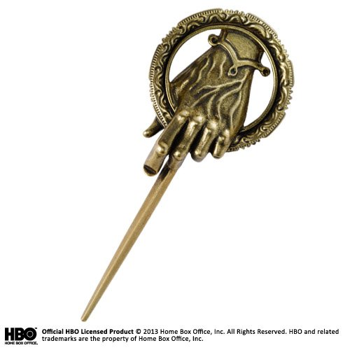 Noble Collection Hand of King Pin Game of Thrones