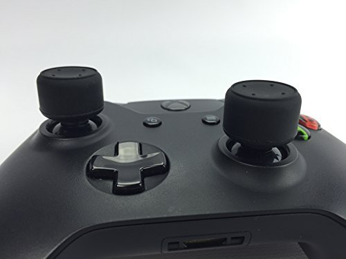 Thumbstick Grips - GRIPMAX SNIPER COMBAT - XBOX ONE Wireless Controller Accessories by HC GamerLife Made from a Premium Blend Silicone they're the Best Thumb Stick Covers for Comfort and Accuracy, Upgrade Your Controllers now, Great Gamer Gifts by HC GAMERLIFE - Blend Kappe