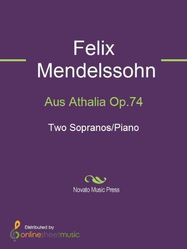 Aus Athalia Op.74 - Score