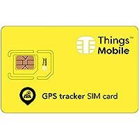 SIM Card per PERSONAL GPS TRACKER - Things Mobile - copertura globale, rete multi-operatore GSM/2G/3G/4G, senza costi fissi, senza scadenza, tariffe competitive. 15€ di credito incluso + 1€ gratis