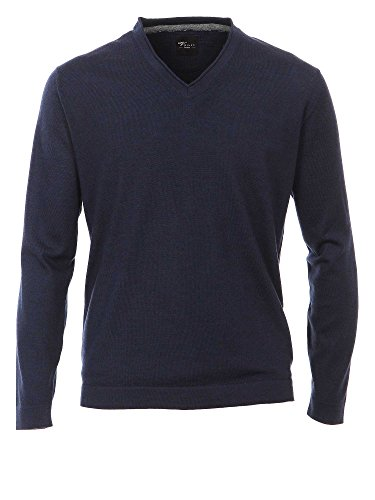Venti Herren Pullover 162504600, Blau (Blau 135), Medium (Medium Wolle Pullover Reiner)