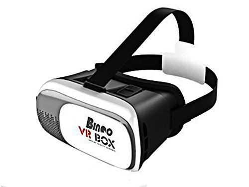 Bingo VR 200 BOX Pro Version VR Virtual Reality 3D Glasses with led light free