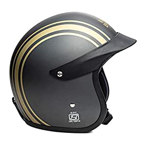 Royal Enfield Athene Open Face with Peak Helmet Size (L)60 CM (RRGHEI000082)