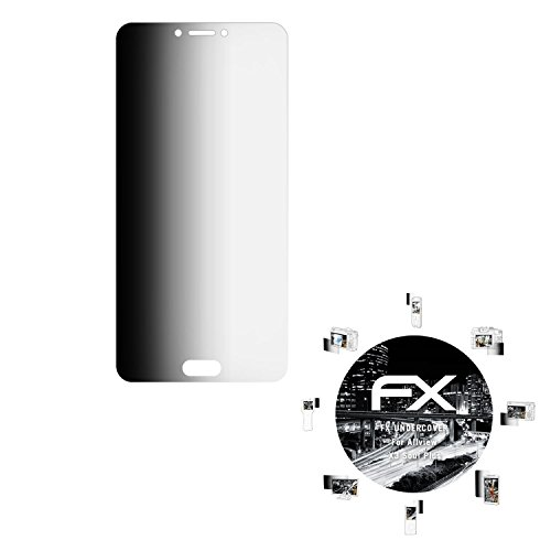 atFolix Blickschutzfilter für Allview X3 Soul Plus Blickschutzfolie, 4-Wege Sichtschutz FX Schutzfolie