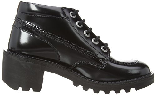 Kickers Kopey HI Leather AF Damen Stiefel Schwarz