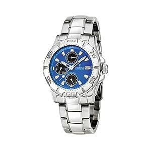 FESTINA Sport 16242/4 - Reloj unisex de cuarzo, correa de acero inoxidable color plata de Festina