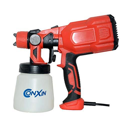 XNNSH Elektrisches Farbsprühsystem (550 W, für kleine und mittelgroße Arbeitsflächen für Lacke und Lasuren, Farbmengenregulierung)