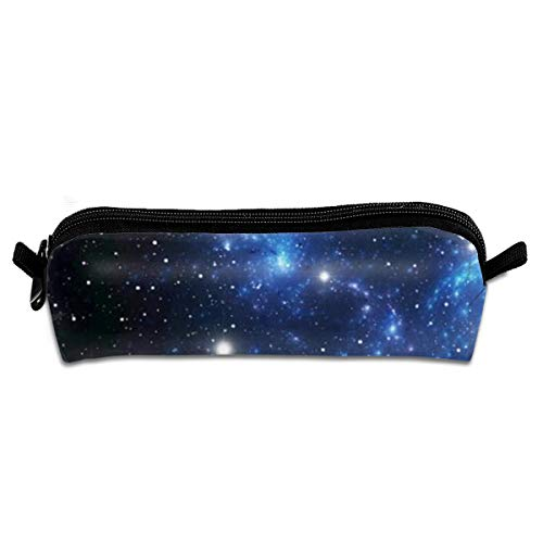 Outer Space Star Nebula Astral Cluster Astronomy Theme Galaxy Mystery Pencil Case Holder Office Storage Organizer Pen Bag For School Office Women Men Student Teens Kids