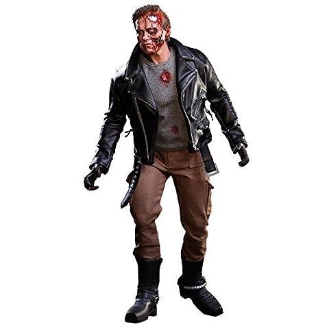Hot Toys Terminator - Terminator Figurine 1/6 T-800 Battle Damaged 32