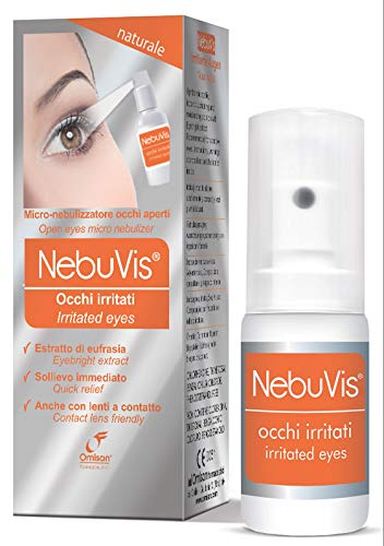 NebuVis Occhi irritati Gocce Oculari in Spray - 10 ml